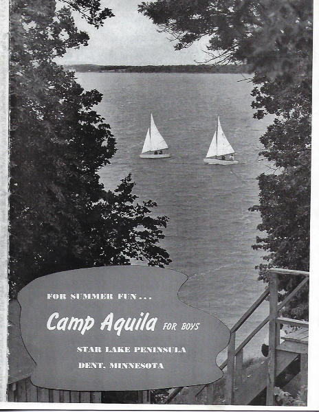Historical photo of Camp Aquila